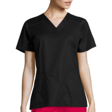jcpenney.com | WonderWink® Womens Short-Sleeve Verity V-Neck Top - Plus