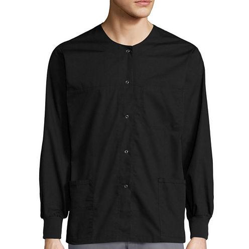 WonderWink® Unisex Delta Snap-Front Jacket - Big & Tall