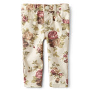 Joe Fresh™ Floral-Print Jeans - Girls 3m-24m