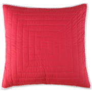 jcp EVERYDAY™ Asheville Red Euro Sham