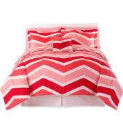 Camden Chevron Complete Bedding Set with Sheets Collection