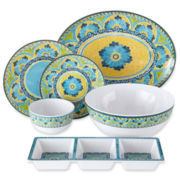 Mexican Tile Melamine Dinnerware Collection