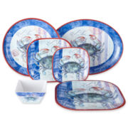 Crab Melamine Dinnerware Collection