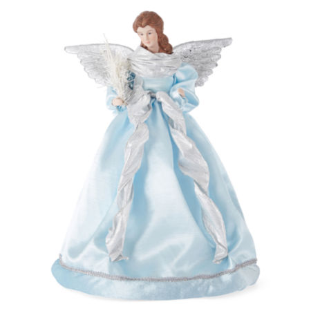 JCPenney Home Vintage Blue Angel Christmas Tree Topper