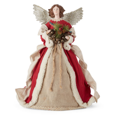 JCPenney Home Woodland Angel Christmas Tree Topper