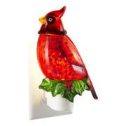 Holiday Cardinal Bird Nightlight