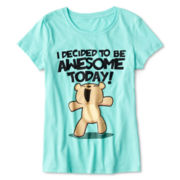 I'll Be Awesome Today Tee - Girls 7-16