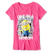 Despicable Me One In A Minion Tee - Girls 7-16
