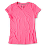 Xersion™ V-Neck Quick Dri Short-Sleeve Tee - Girls 6-16