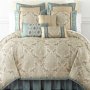 Home Expressions™ Carlton Hill 7-pc. Jacquard Comforter Set & Accessories