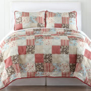 Monroe 3-pc. Patchwork Quilt Set
