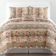 Home Expressions™ Sweet Floral Quilt & Accessories