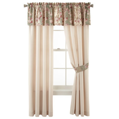 jcpenney.com | Home Expressions™ Sweet Floral 2-Pack Curtain Panels