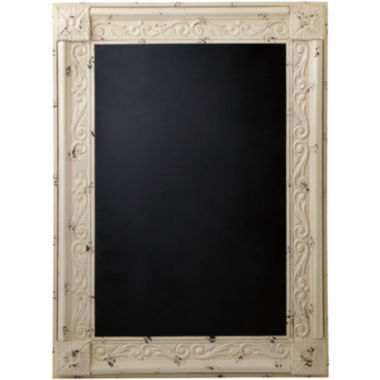jcpenney.com | Distressed Framed Chalkboard - White