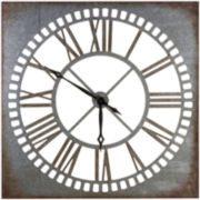 Antique Metal Wall Clock