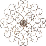 Antique Scroll Wall Decor