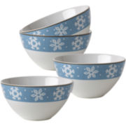 Evergreen Ernie Set of 4 Bowls