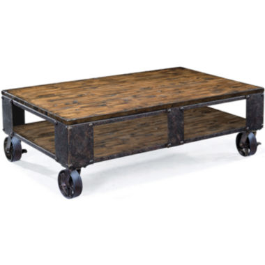 jcpenney.com | Ironwood Distressed Pine Large Rectangular Coffee Table