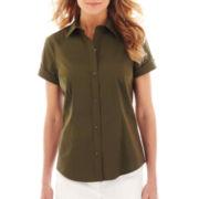 Liz Claiborne® Short-Sleeve Shirt