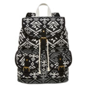 SM New York Aztec Print Cargo Backpack