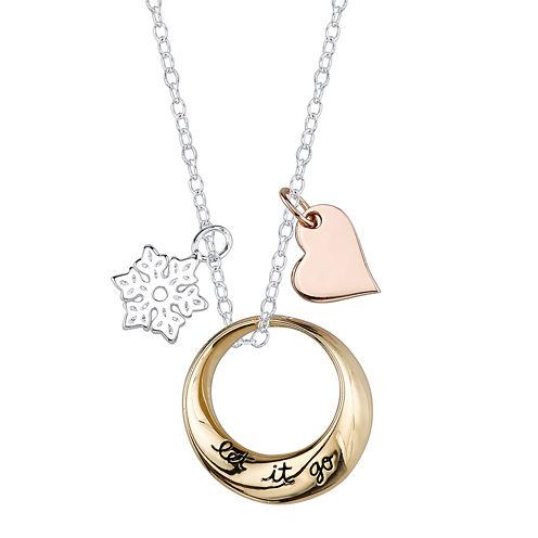 """Disney Frozen """"Let it Go"""" Pendant Necklace"""