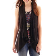 Self Esteem® Sleeveless Layered Top
