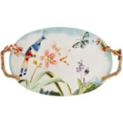 Fitz and Floyd® Flourish Oval Serving Platter