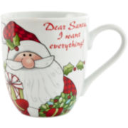 Fitz and Floyd® 2-pc. Santa's Big Day Coffee Mug Set