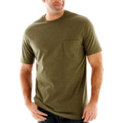 The Foundry Supply Co.™ Heathered Pocket Tee-Big & Tall