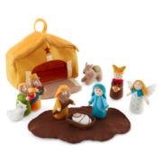 Christmas Traditions 10-pc. Felt Children's Nativity Set