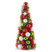 Christmas Traditions Cone Tree