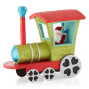 Holiday Glitz Christmas Train Figurine