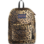 JanSport® HighStakes Backpack - Plush Leopard