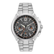 Citizen® Satellite Wave-Air Eco-Drive™ Mens Silver-Tone Watch CC1090-61E