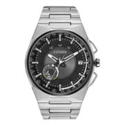Citizen® Satellite Wave-Air Eco-Drive™ Mens Silver-Tone Watch CC2006-61E