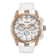 Citizen® Eco-Drive® Womens Victoria Azarenka Chronograph Watch CA4153-00A