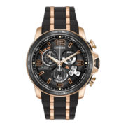 Citizen® Eco-Drive® Mens Chronograph Atomic Time Watch BY0119-02E