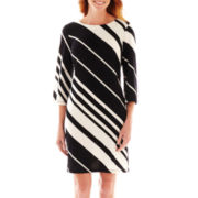 R&K Originals® Long-Sleeve Shift Dress