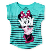 Minnie Mouse Graphic Tee - Girls 7-16