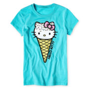Hello Kitty® Ice Cream Graphic Tee - Girls 7-16