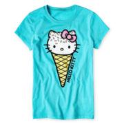 Hello Kitty® Ice Cream Graphic Tee - Girls 7-16