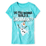 Disney Frozen Snowman Tee - Girls 7-16
