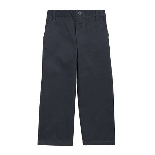 French Toast® Pull-On Flat-Front Pants - Boys 2t-4t