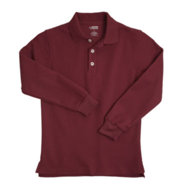 jcpenney.com | French Toast® Long-Sleeve Polo - Boys 8-20 and Husky