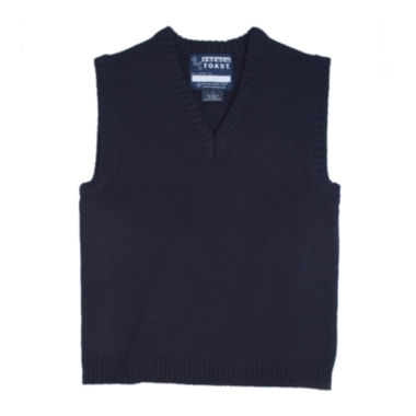 jcpenney.com | French Toast® V-Neck Sweater Vest - Boys 8-20 and Husky
