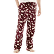 Stafford® Flannel Sleep Pants - Moose