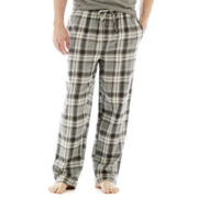 Stafford® Flannel Sleep Pants–Big & Tall