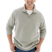 IZOD® Quarter-Zip Sweater–Big & Tall