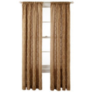 Royal Velvet® Geneva Rod-Pocket Curtain Panel