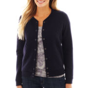 Liz Claiborne Quilted Bomber Jacket